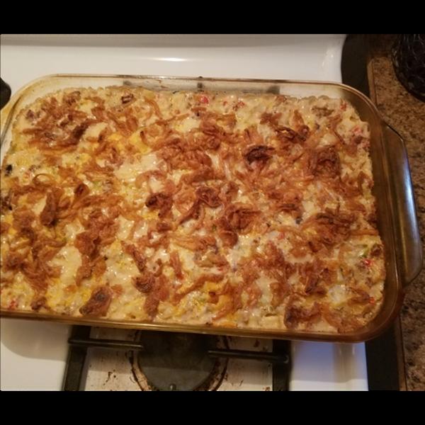 Sausage potato casserole