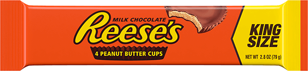 A King Size Reese's Peanut Butter Cups